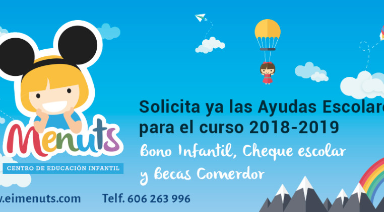 Bono Infantil Valencia 2018 Guarderias EIMenuts