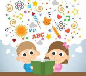 ninos-leyendo-escuela infantil Menuts