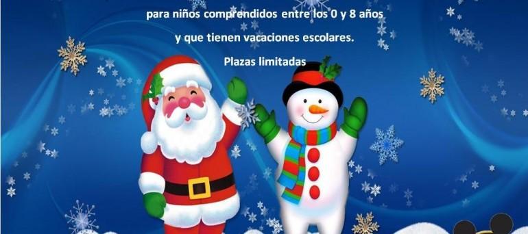 cartel escuela navidad- escuela infantil menuts