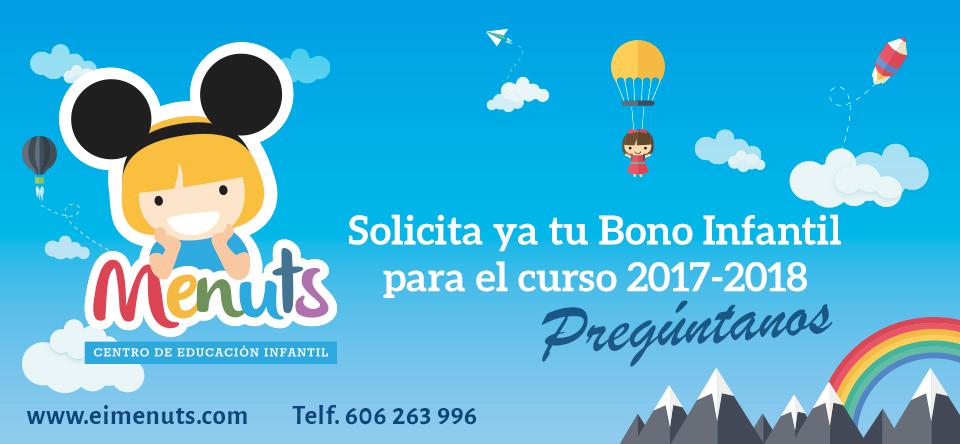 Bono infantil guarderías Valencia