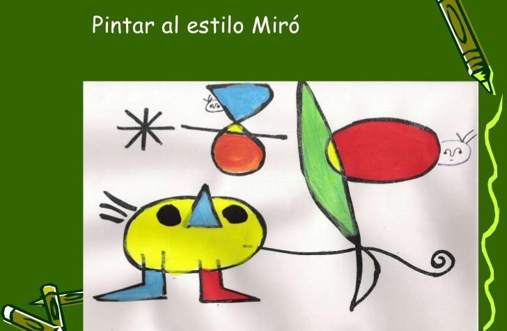Menuts Arte Amanecer De Joan Miró Menuts