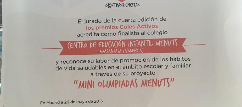 FINALISTA ATRESMEDIA 2016